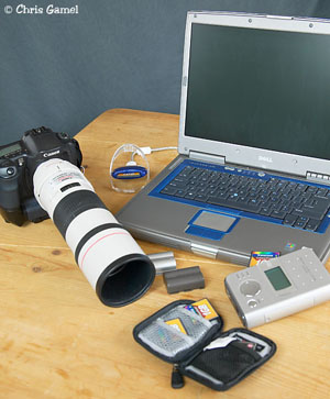 Digital Camera and computer equipment.